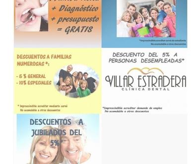 Ofertas y promociones de tratamientos dentales