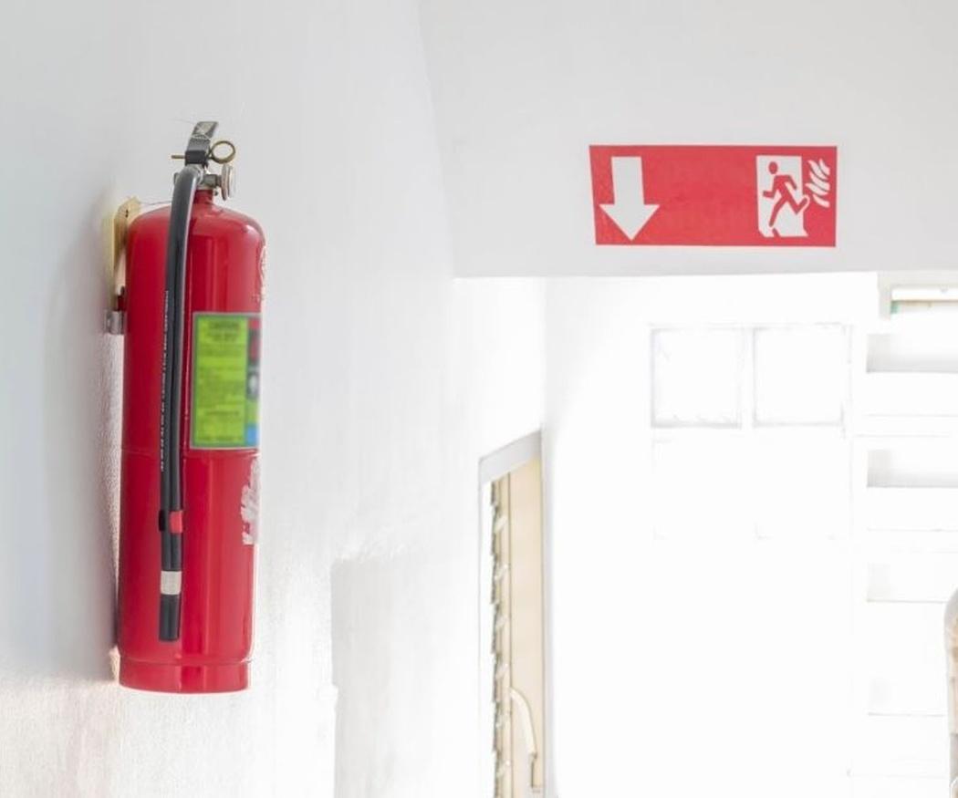 Los extintores de incendios