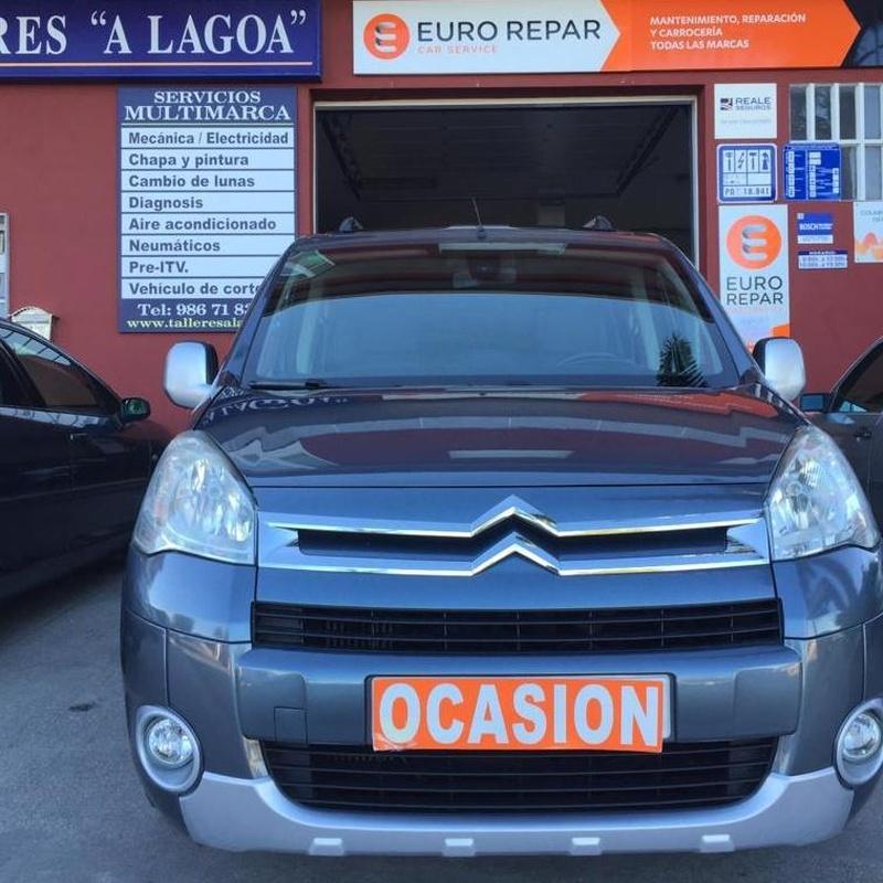 CITROEN BERLINGO 1.6HDI 111CV MULTISPACE:  de Ocasión A Lagoa