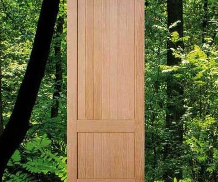 Puertas de pino: Catálogo de Maderas Perafort