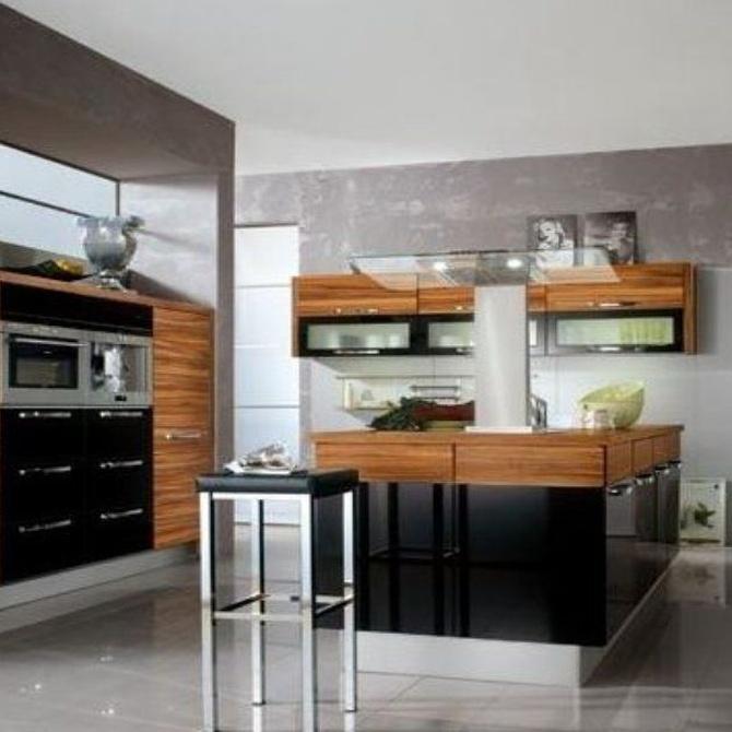 Ventajas de la melamina para muebles de cocina
