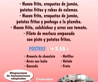 Menú Septiembre: Amplia carta de Restaurante El Cobijo