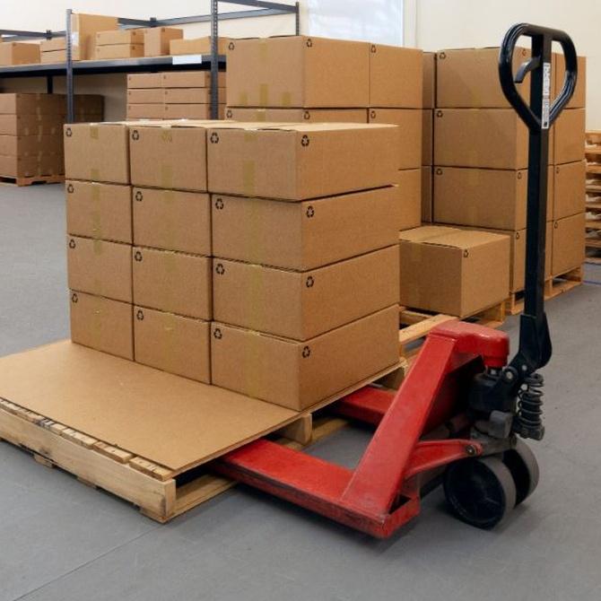 El palet mejora la logística de cualquier almacén