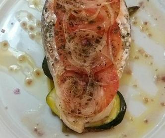 Entrantes: Carta y menú de Restaurante Bassalo