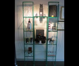 Mobiliario en vidrio