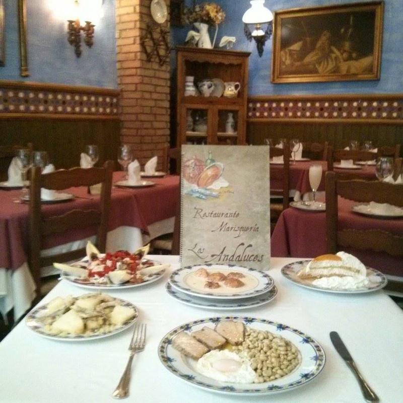 Menú de Empresas - Opción 1: Especialidades de Restaurante Los Andaluces