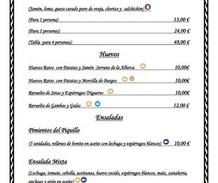 Carta Digital Restaurante y Terraza. Ver Nuestra Carta