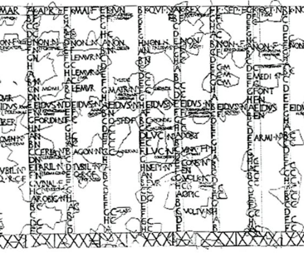 ¿Sabes cómo eran los calendarios en Roma?