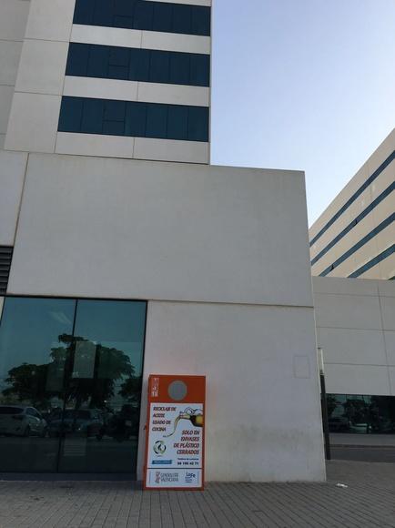 La Nueva Fe de Valencia y  Reciclamas sellan un acuerdo para recogida de aceite usado de cocinas para ayudas solidaras para el hospital
