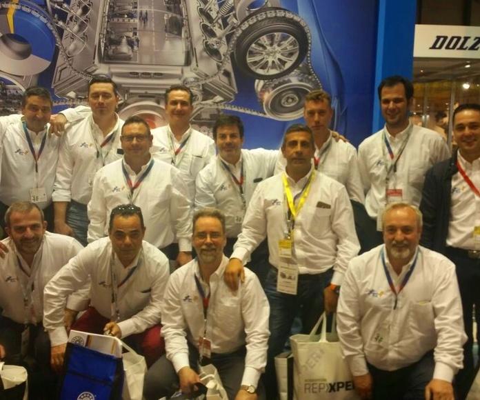 Repuestos Real SL de Madrid en su paso por Motortec 2017!