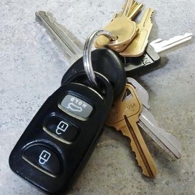 Si pierdes las llaves del coche no hagas un drama, haz un duplicado
