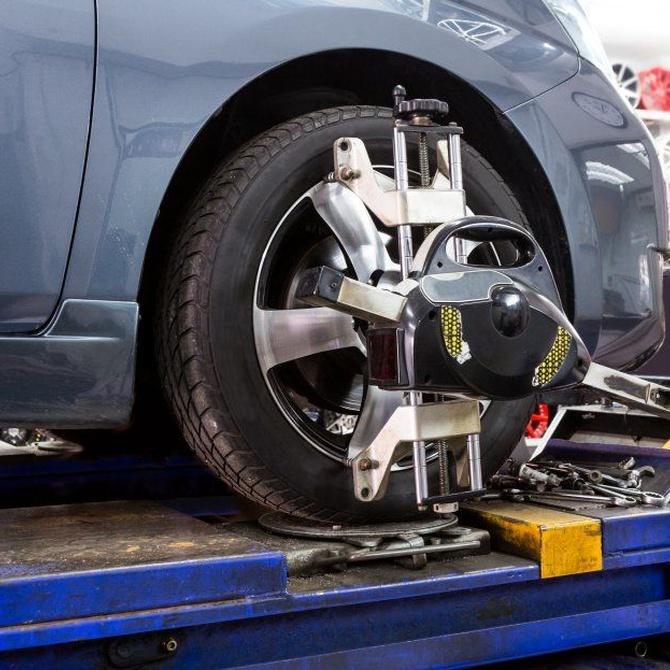El equilibrado de ruedas del coche