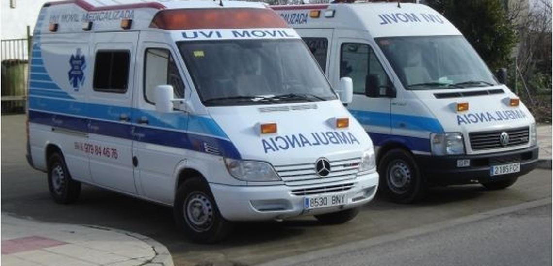 Servicio de ambulancias en León, Palencia y Valladolid