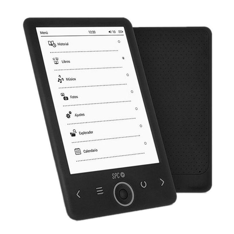 """SPC eBook 6"""" Dickens 4GB T.electrónica Negro: Productos y Servicios de Stylepc"""