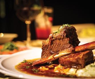Menú 5: Menús para Bodas y Empresas de Restaurante Untzigain - Museo el Barco