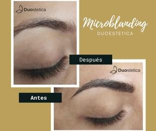 Micropigmentacion y microblanding en cejas.