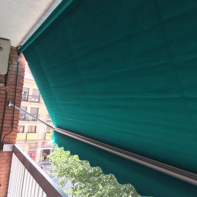 Los toldos, una manera fácil de climatizar una estancia