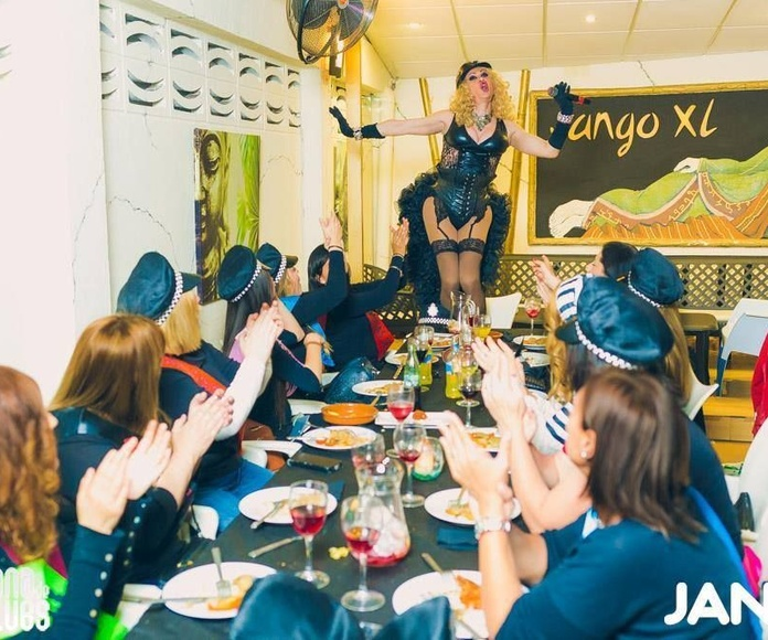Cenas: Servicios de JANGO XL