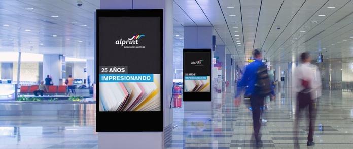 Impresiones gran formato y publicidad exterior: Servicios de Alprint Soluciones Gráficas