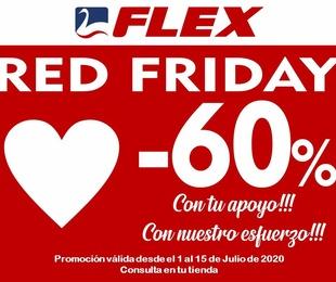Red Friday en colchonerías Miluna Flex