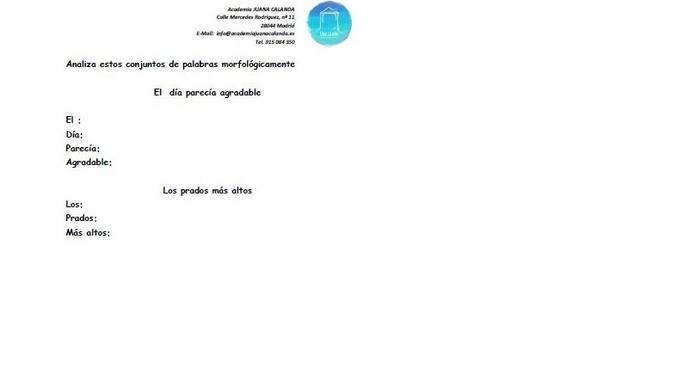 Academia de Apoyo en Carabanchel