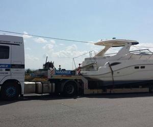 Transporte de embarcaciones a precios competitivos