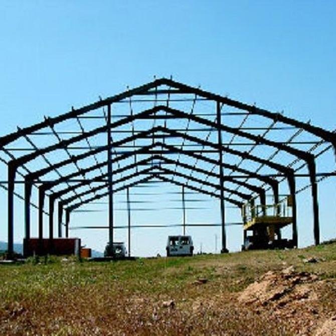 Descubre el papel del acero en la construcción de estructuras metálicas