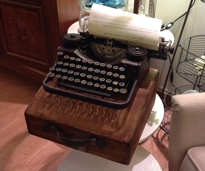 Restauración: Máquina de escribir restaurada: Catálogo de Ste Odile Decoración