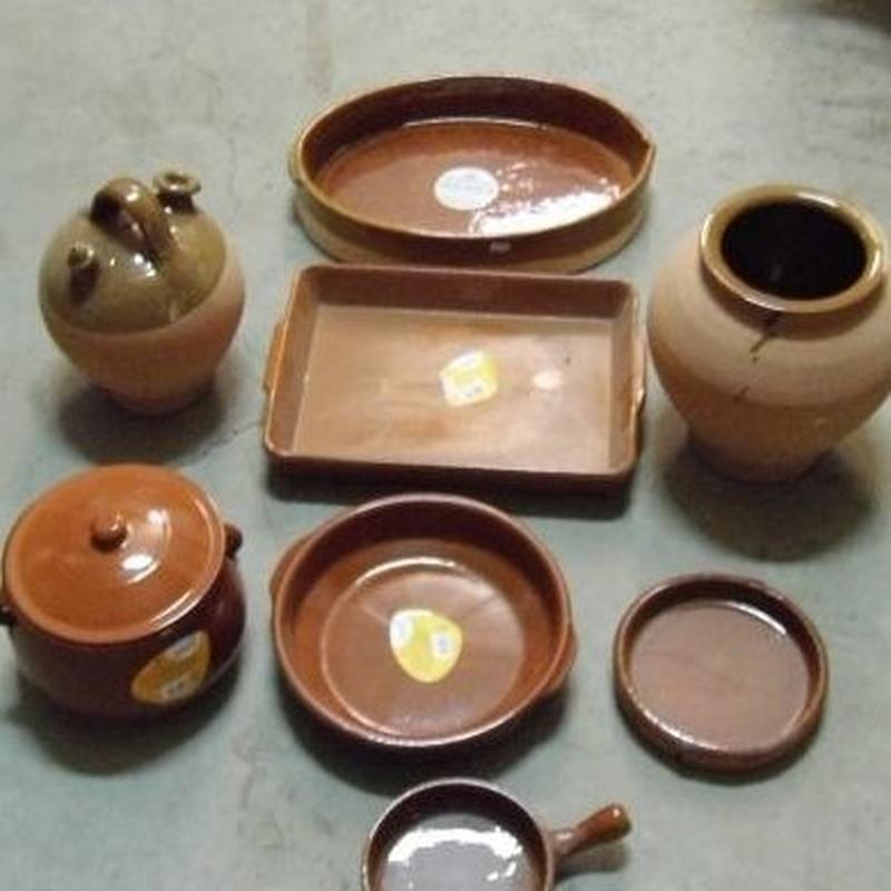 Elaboración artesanal  : Servicios  de Alfarería Garmendia