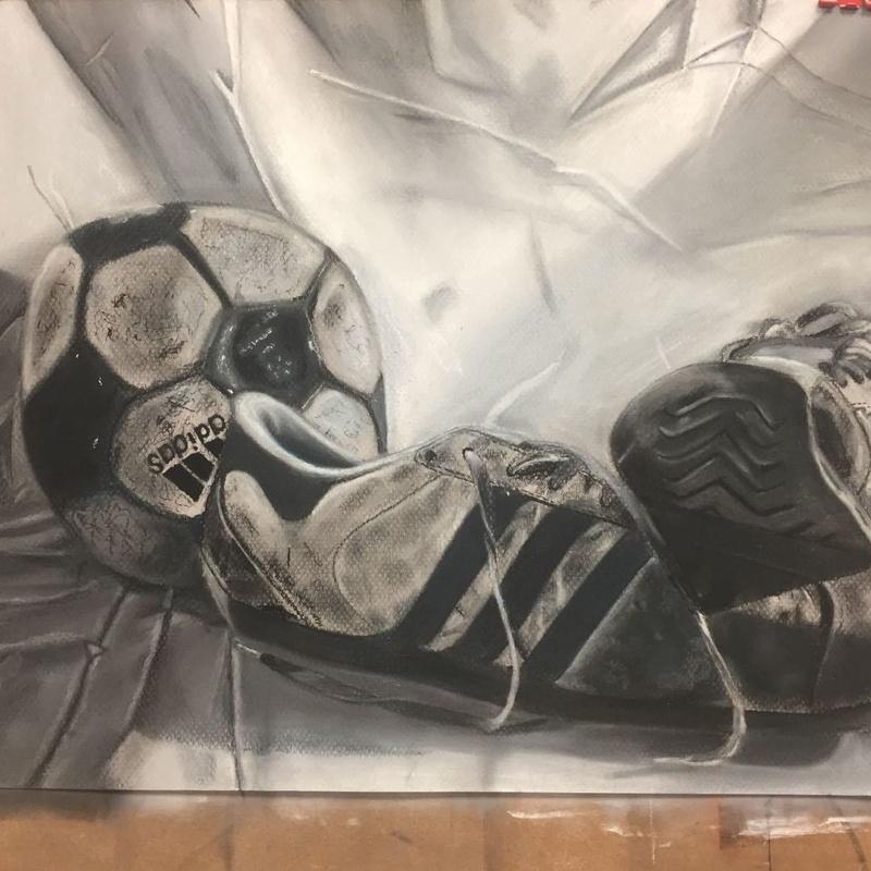 Obra realizada por alumna de 15 años