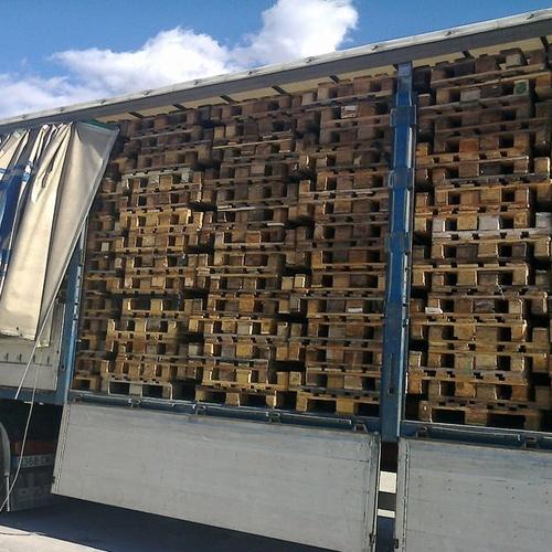 Empresa de palets de madera reciclados en Valencia