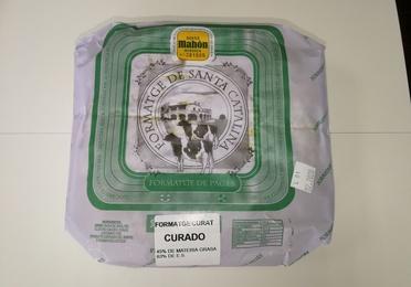 Pieza queso Santa Catalina Curat 2,250-2,600 Kg