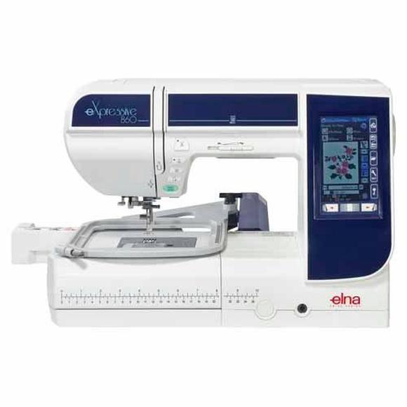 Máquina de coser y bordar Elna 860 Expressive: Productos de J. Pujol