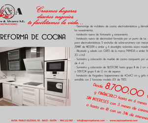 OFERTA Reforma cocina