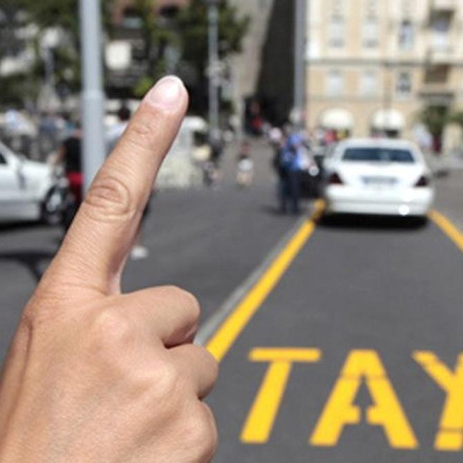 Servicios especiales a los que se enfrenta un taxista