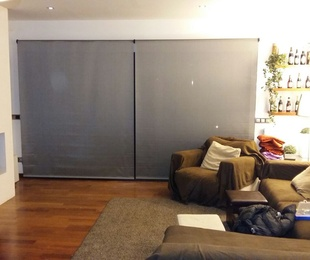Cortinas tejido screen