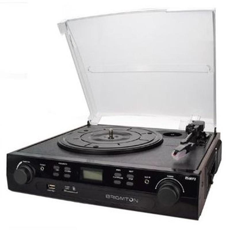 Brigmton BTC-406 Tocadiscos-Cassette Grabador : Productos y Servicios de Stylepc