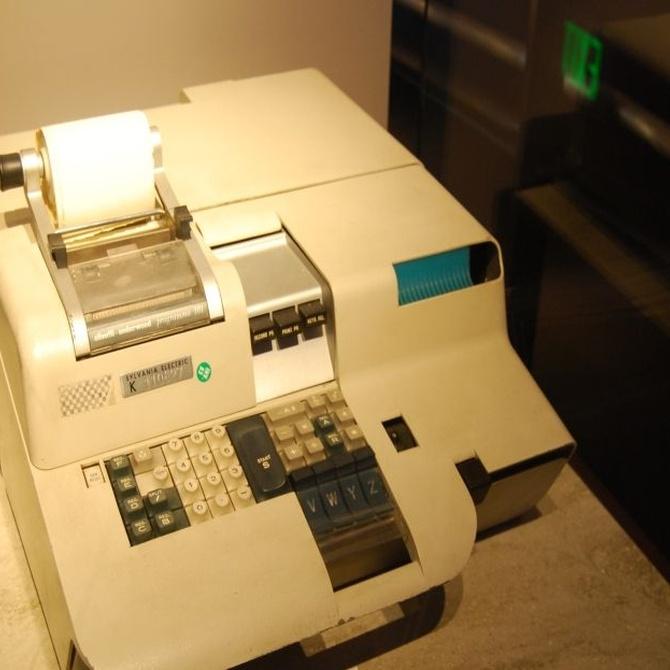 Las calculadoras con impresora