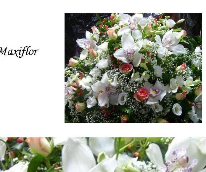 Centro de cementerio : Catálogo  de Floristería Maxiflor