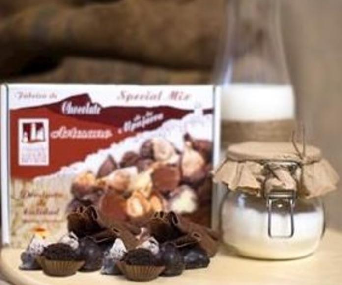 Surtido especial de higos y chocolates: Nuestros productos de Chocolates Sierra Nevada
