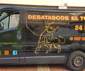 Limpiezas integrales de desagües: Servicios de Desatascos El Toro