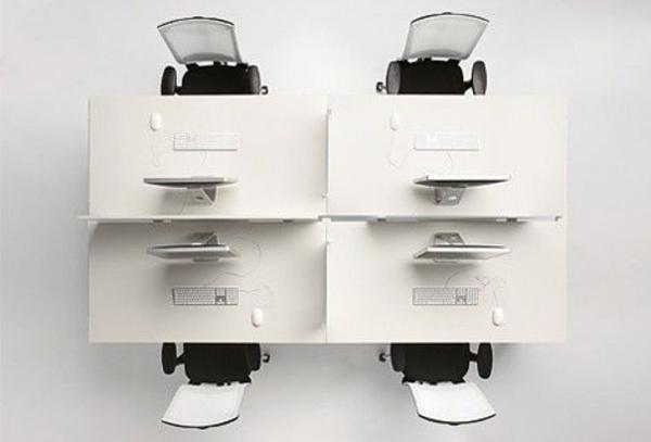 Kompak blanca con separadores