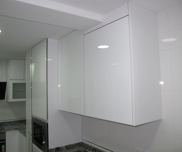 Muebles de Cocina - Proyecto realizado en Leganes: PROYECTOS REALIZADOS de Diseño Cocinas MC