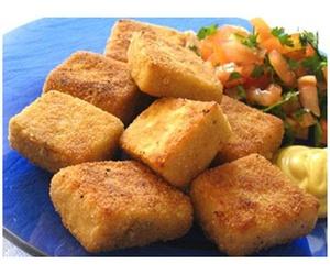 Tofu empanando