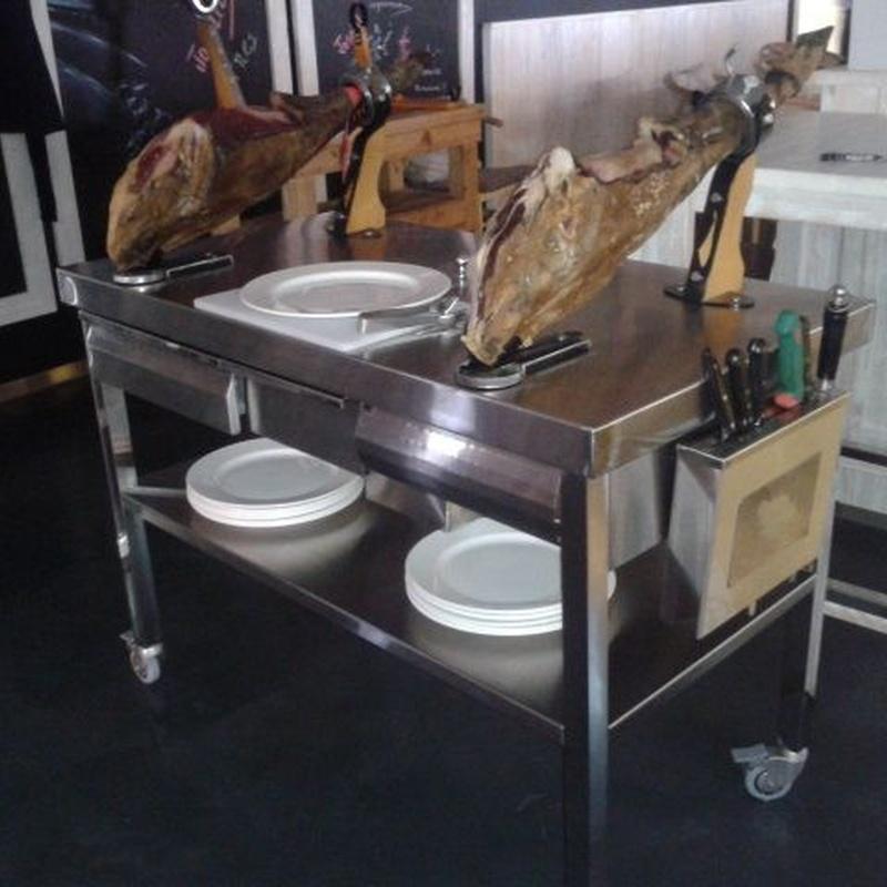 Mesas en acero inoxidable: Productos de Inoxmueble