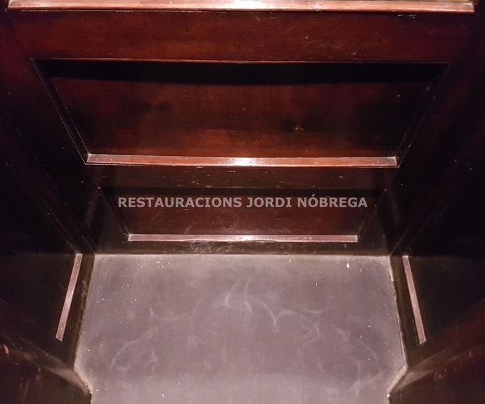 Restauración de ascensores en Barcelona, por Restauracions Jordi Nóbrega: Nuestros trabajos de Jordi Nóbrega Restauracions