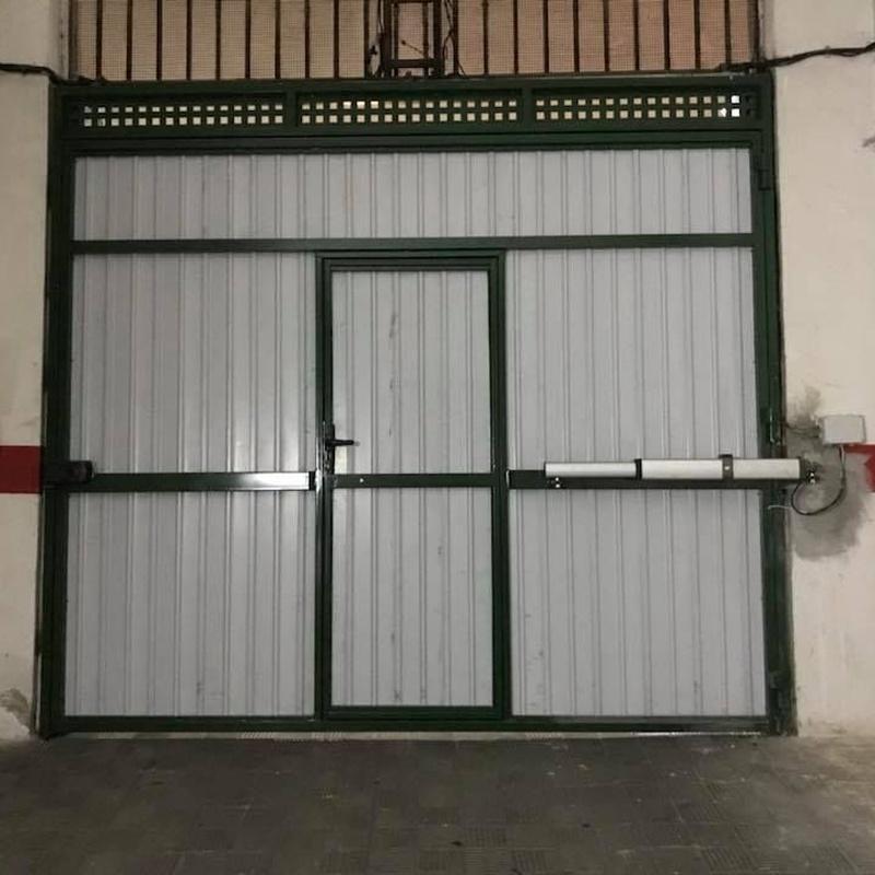 Automatizaciones de puertas: Servicios de Automatismos Montidoor
