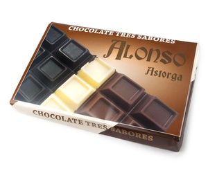 Chocolate 3 Sabores 900 grs.