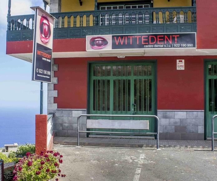 Fachada centro dental Wittedent