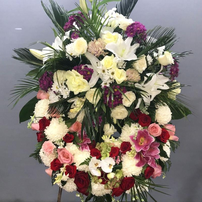 corona multicolor: Productos de Flores Madrid